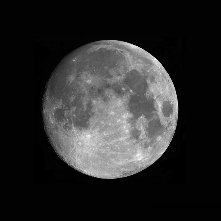 Ma première mosaïque lunaire