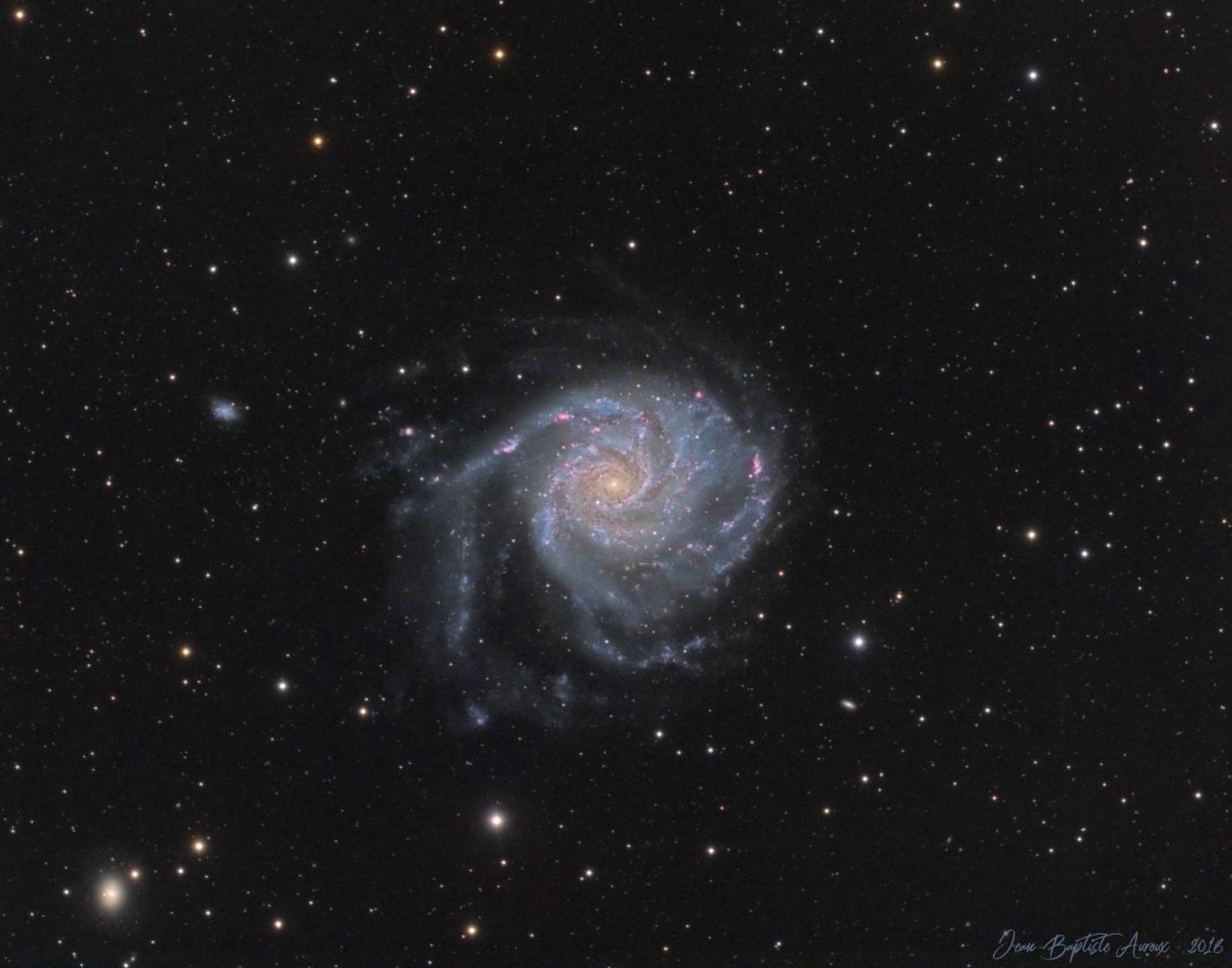 M101 – Galaxie du Moulinet