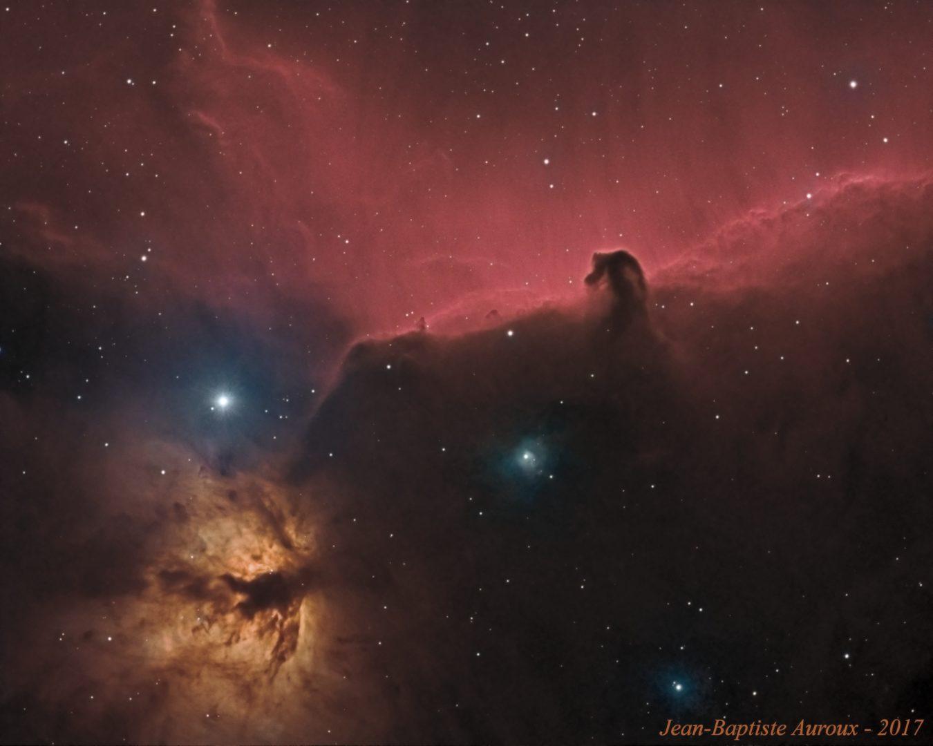 """IC 434 - Nébuleuse de la """"tête de cheval"""""""