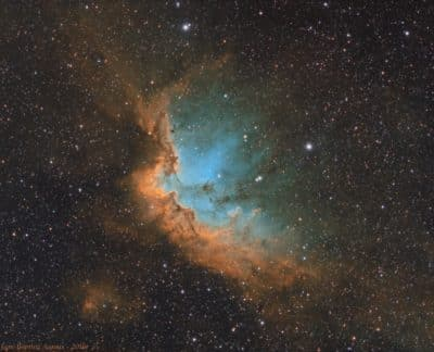 NGC 7380 – La nébuleuse du Sorcier