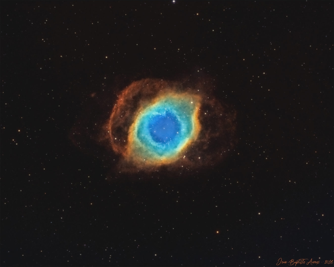 NGC 7293 - Nébuleuse Helix (SHO)