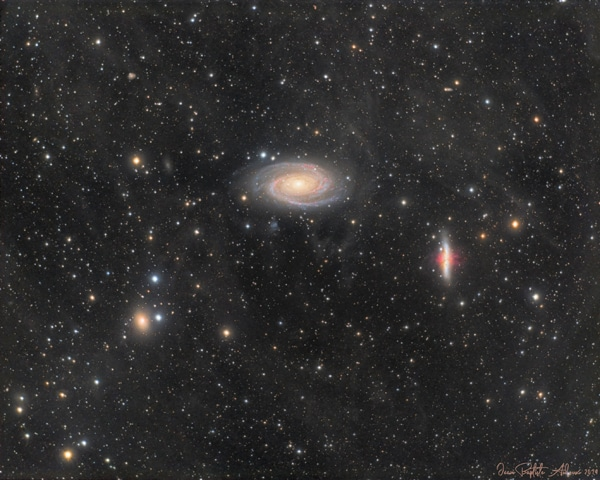 M81 & M82 – Galaxies de Bode et du Cigare
