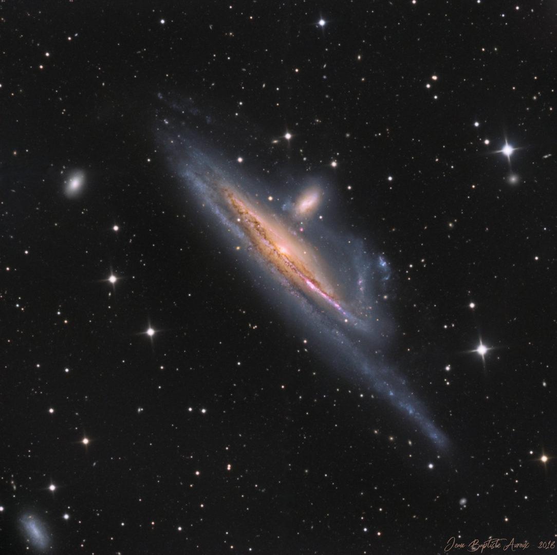 Galaxie NGC 1532