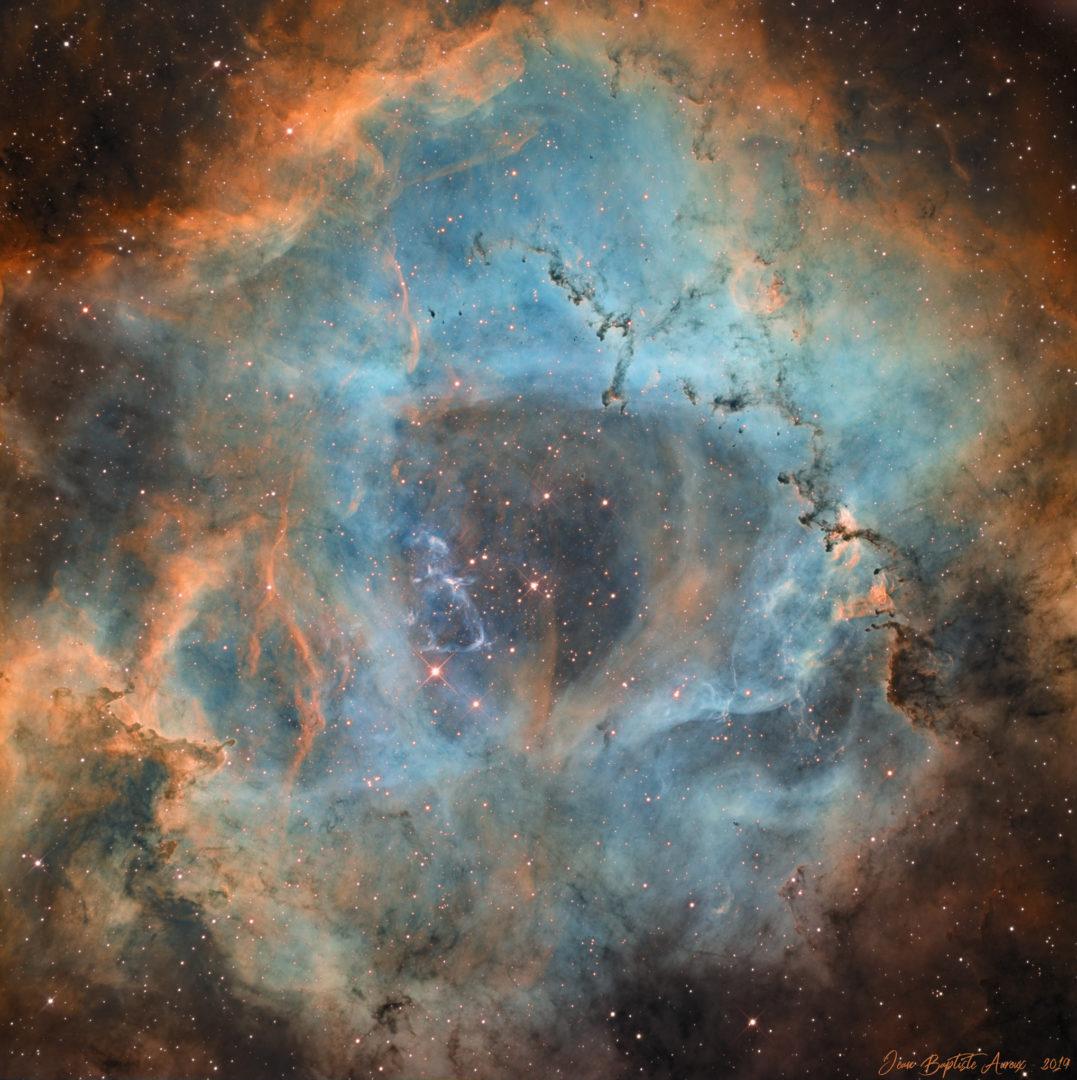 NGC 2237 - Nébuleuse de la Rosette
