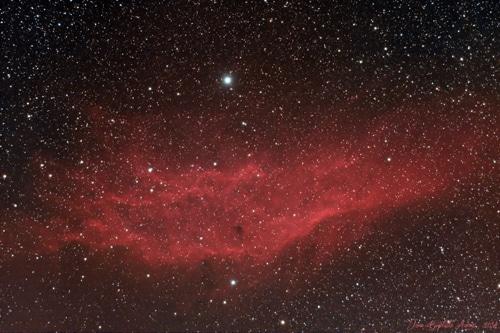 NGC 1499 – Nébuleuse California
