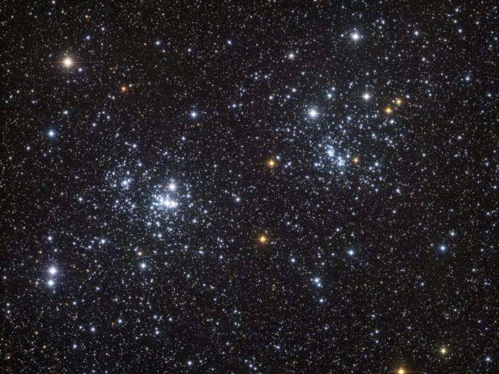NGC 869 & 884 – Double amas de Persée