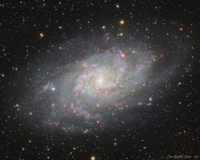 M33 – Galaxie du Triangle