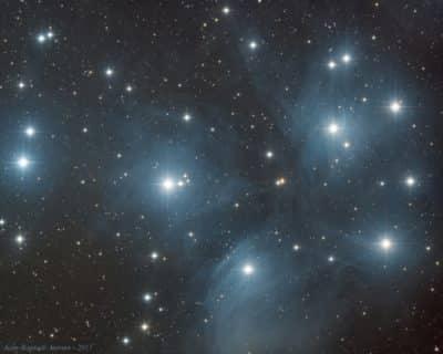 M45 – L'amas des Pléiades