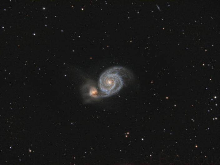 M51 – Galaxie du Tourbillon