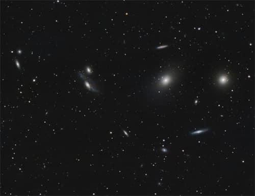 M87 & la Chaîne de Markarian