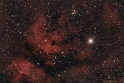 IC1318 – Sadr & la nébuleuse du Papillon