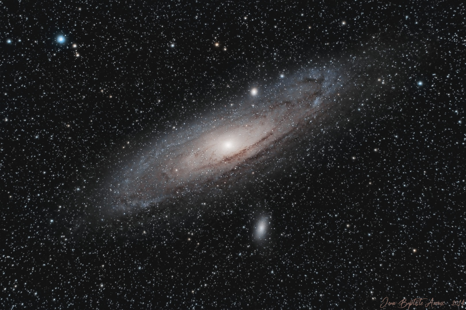 M31 - Galaxie d'Andromède (2014)
