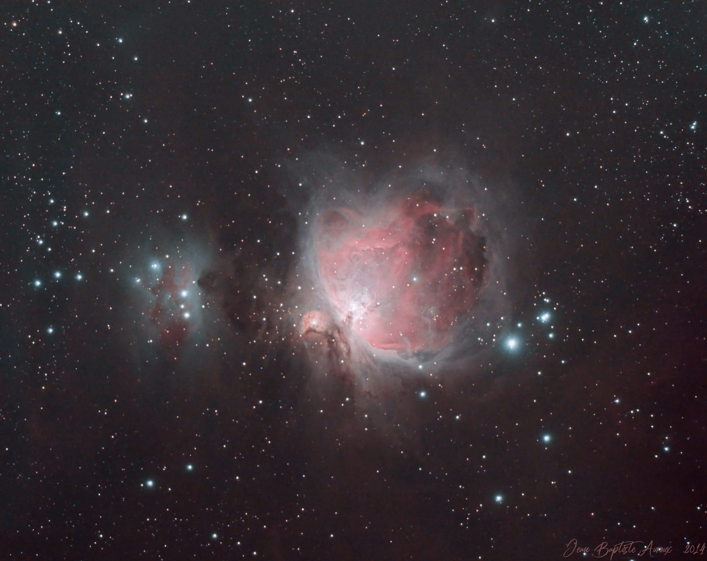 M42 - Nébuleuse d'Orion (version APN)