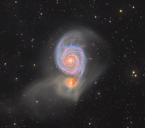 M51 – Galaxie du Tourbillon