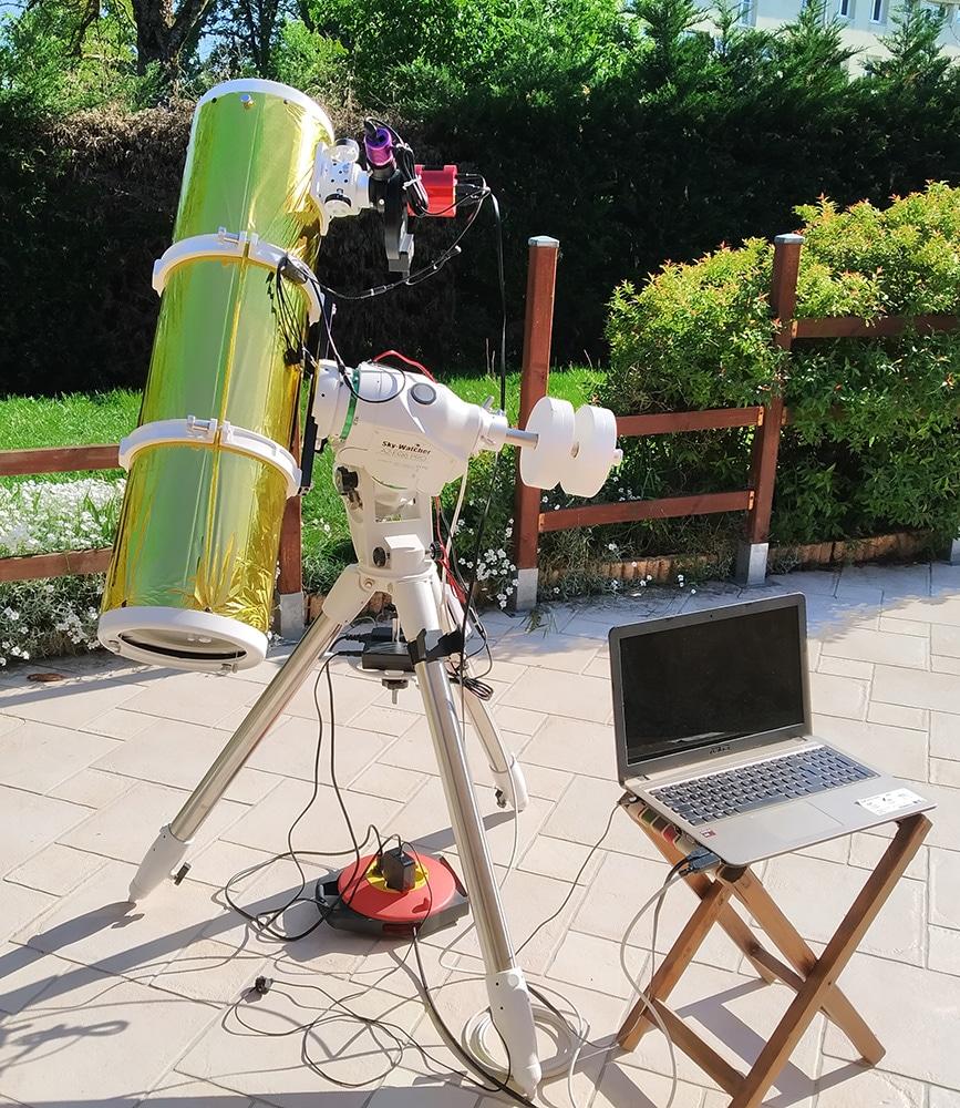 Newton 200/1000 - AZ-EQ6 - ASI 1600MM
