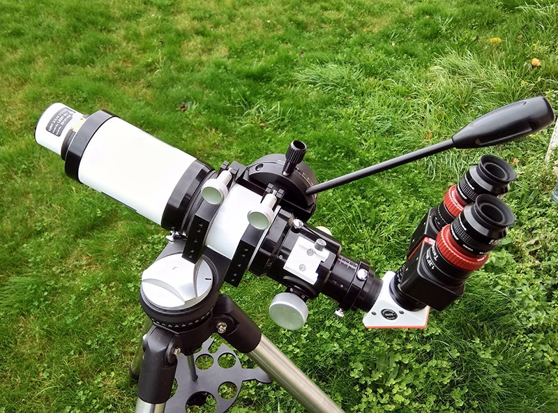 "ED80/480 + Lunt 35mm - BF600 - Version ""visuel"""