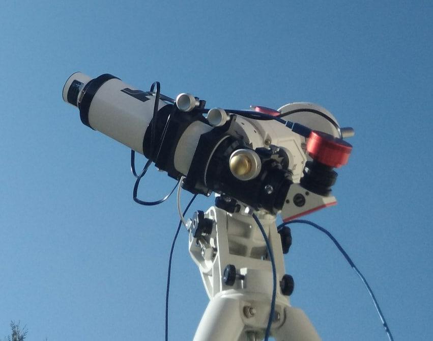 "ED80/480 + Lunt 35mm - BF600 - AZEQ6 - Version ""photo"""